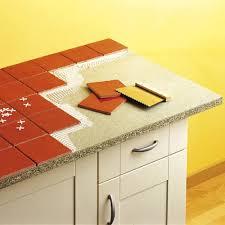 carreler une cuisine carreler un plan de travail cuisine a id es d coration et mobilier 4