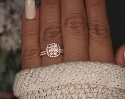 what is morganite gold morganite ring cushion 8mm morganite engagement