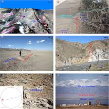 Kunlun Mountains Map Three Dimensional Structural Model Of The Qaidam Basin