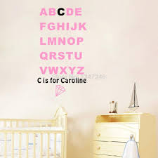 Cheap Nursery Wall Decals by Online Get Cheap Abc Wall Decals Aliexpress Com Alibaba Group
