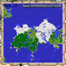 Minecraft Usa Map by Single Map Continent Good For Small Server Adv Map 1 2 5