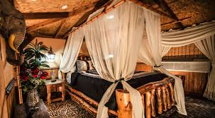 Exotic Theme Jungle Suite Private Hotel