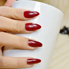 oxblood red nails a cup of jo striping tape nail art the adorned