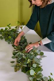 greenery garland how to make a greenery table garland diy tutorial easy and