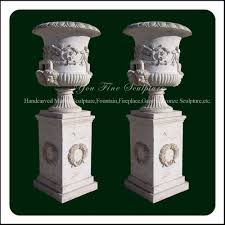Pedestal Pots Yellow Pot Yellow Pot Suppliers And Manufacturers At Alibaba Com