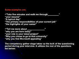 Walk Me Through Your Resume Example by The Art Of Interview