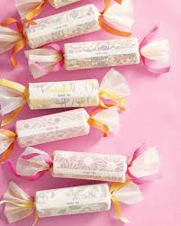 Salt Water Taffy Wedding Favor 38 Wedding Favor Gift Wrapping Ideas To Steal Martha Stewart