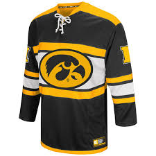 iowa hawkeye sweater hawkeyes open ii hockey sweater