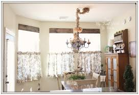 curtains ideas french cafe curtains for kitchen
