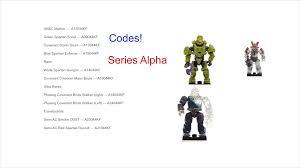 halo mega bloks series alpha codes series 10 youtube