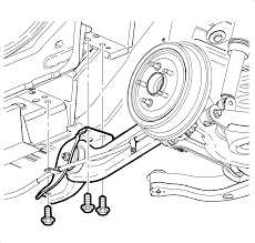 repair instructions rear axle upper control arm replacement