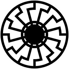 Ukrainian Flag Emoji Black Sun Occult Symbol Wikipedia