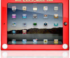 etch a sketch ipad case gets official can draw more than straight