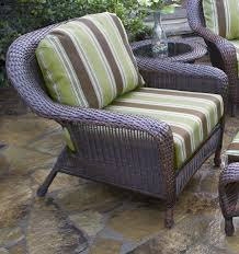 the lexington all weather wicker club chair tortuga outdoor