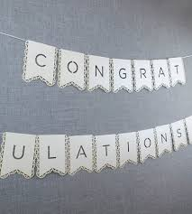 wedding congratulations banner white congratulations banner inactive wedding mattox