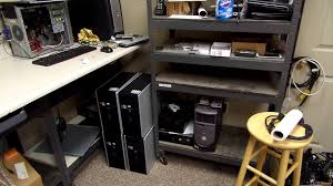Shop Computer Desk Tour Of A Computer Repair Shop 7 22 14