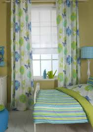 blue and yellow curtain panels home design ideas