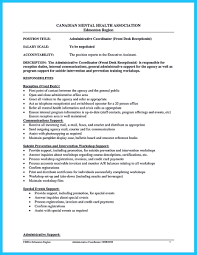 Accounts Receivable Duties For Resume Admin Coordinator Resume Resume For Your Job Application