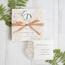 Wedding Invitations With Pictures Unique Laser Cut Wedding Inviations At Stylish Wedd Stylishwedd