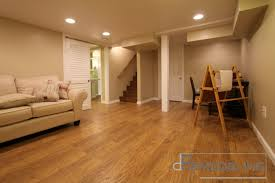 earth toned basement remodeling in philadelphia area