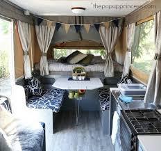 Camper Trailer Interior Ideas Rv Hacks Remodel And Renovation 99 Hybrid Camper Travel Trailer