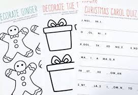 Printable Activity Book Free Printable Christmas Activity Book