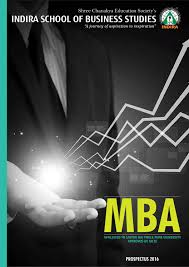 isbs mba prospectus 2016 by indira group of institutes issuu