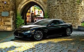 black maserati cars maserati cars hdr walldevil