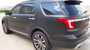 Ford Explorer Black - satin black 2016 ford explorer autoflex coatings youtube