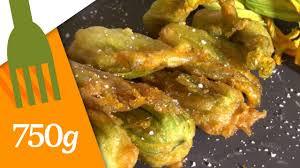 cuisiner les fleurs de courgette recette de beignets de fleurs de courgettes 750 grammes