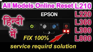 resetter epson l210 terbaru red light error solution epson l380 l360 l220 l210 in hindi