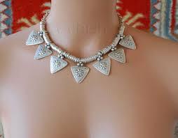 australian shepherd jewelry silver plated metal necklace triangle festival bohemian jewelry