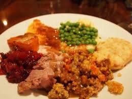 my thanksgiving plate made menus