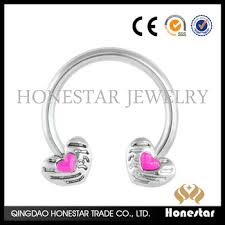 double nipple rings images Double heart shape nipple jewelry rings wholesale fashion nipple jpg