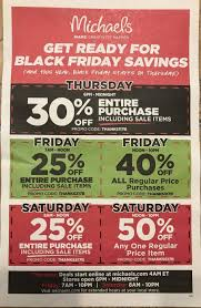 michael s black friday ad scan for 2017 black friday gottadeal