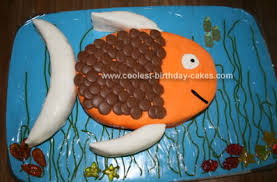 fish birthday cakes cool swimming fish birthday cake fish birthday cakes