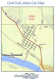 Map Of Idaho And Montana by Clark Fork Idaho Your Home On The Clark Fork River
