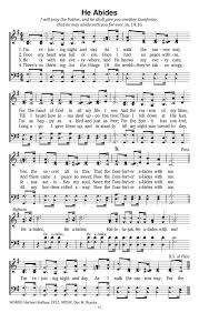 He Is My Comforter He Abides Hymnary Org