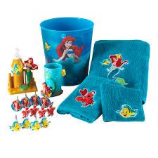 The Little Mermaid Shower Curtain Disney Little Mermaid Waste Basket Home Bed U0026 Bath The Little