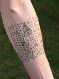 unique egyptian tattoos 15 examples u0026 ideas plus their meaning