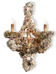 Oyster Chandelier Oyster Shell Wall Sconce Currey U0026 Company Lighting Pinterest