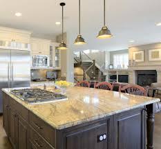 retro kitchen island countertops backsplash retro hanging pendant luxury granite
