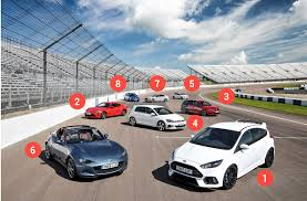 sports cars 2017 the best cheap fast cars 2017 the parkers group test parkers