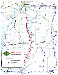 County Map Of Mississippi Panola County Mississippi Rail Line Grenada Railway