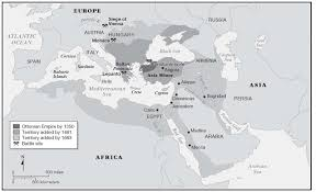 Beginning Of Ottoman Empire Empire Ottoman Western Colonialism