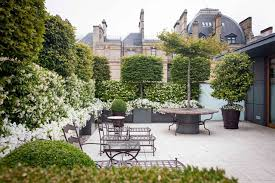 roof terrace view city gardens small space garden design