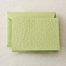 embossed note cards willow blind embossed notes crane
