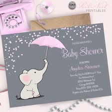 umbrella baby shower elephant baby shower invitation elephant holding umbrella baby