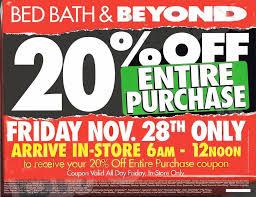 Bed Bath Beyons Bed Bath U0026 Beyond 2014 Black Friday Ad Black Friday Archive