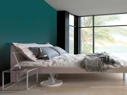 mur de couleur dans une chambre attractive idees deco chambre parentale 3 couleur gris urbain sur